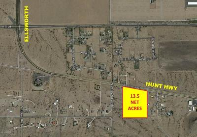 Queen Creek Residential Lots & Land For Sale: 5900 W Hunt Highway