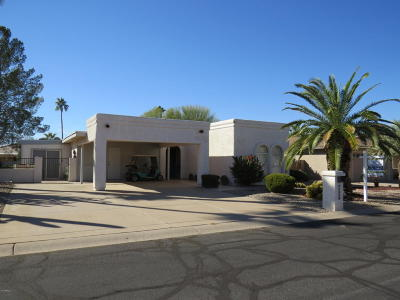 Sun Lakes Single Family Home UCB (Under Contract-Backups): 25826 S Hollygreen Drive