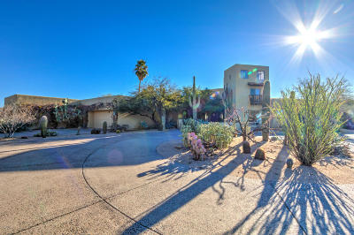 Fort Mcdowell Single Family Home UCB (Under Contract-Backups): 22805 E Kalil Drive
