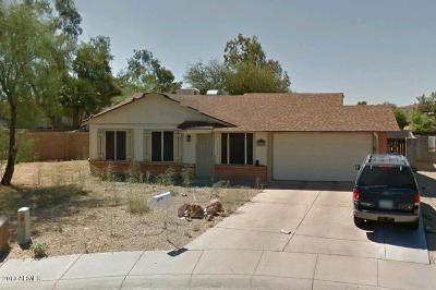 Phoenix Single Family Home UCB (Under Contract-Backups): 4117 E Aster Drive
