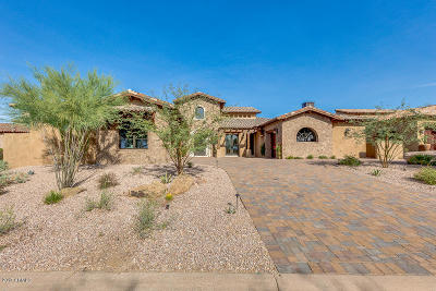 Gold Canyon Single Family Home For Sale: 8296 E Sunset View Drive