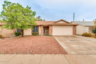 Gilbert Single Family Home UCB (Under Contract-Backups): 976 S Wanda Drive