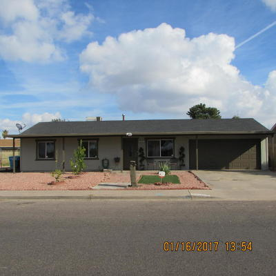 Phoenix Single Family Home For Sale: 2525 N 61st Drive