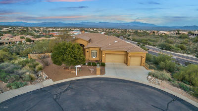 Fountain Hills Single Family Home For Sale: 15822 E Jackrabbit Lane