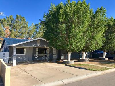 Chandler Single Family Home UCB (Under Contract-Backups): 625 N Sunland Drive
