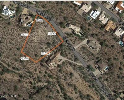 Fountain Hills Residential Lots & Land For Sale: 15911 E Sycamore Drive