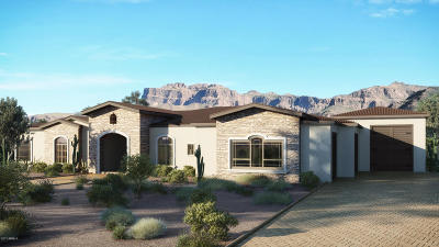 El Mirador At Superstition Mountain Single Family Home For Sale: 6752 E Arroyo Verdi Road