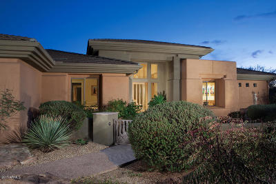 Scottsdale AZ Single Family Home Sold: $2,500,000