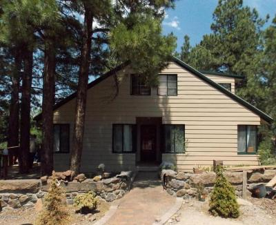 Flagstaff Single Family Home UCB (Under Contract-Backups): 721 N San Francisco Street #B