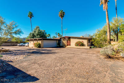 Phoenix Single Family Home For Sale: 5816 N 44th Street