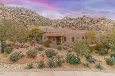 Single Family Home For Sale: 11015 E Troon Mountain Drive