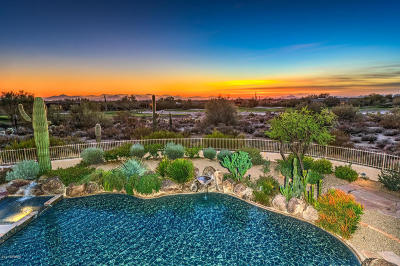 Desert Highlands Single Family Home For Sale: 10040 E Happy Valley Road #447