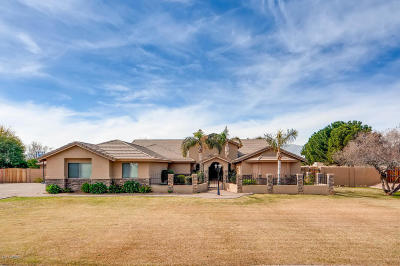 Goodyear, Waddell Single Family Home For Sale: 6242 N 186th Avenue