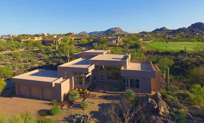 Scottsdale Single Family Home For Sale: 10511 E Monument Drive