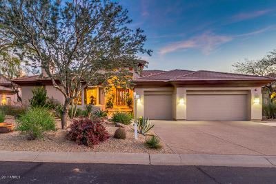 Scottsdale Mountain Single Family Home For Sale: 13653 E Aster Drive