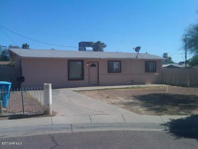 Phoenix Single Family Home For Sale: 5234 S 13th Way