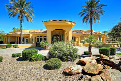 Paradise Valley Single Family Home For Sale: 6116 E Royal Palm Road