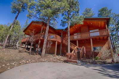 Pinetop Single Family Home For Sale: 2427 Pine Wood Lane