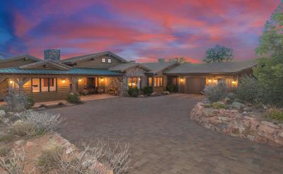 Prescott Single Family Home For Sale: 11955 W Cooper Morgan Trail