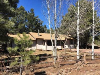 Pinetop Single Family Home For Sale: 3168 Cutthroat Circle