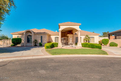 Phoenix Single Family Home For Sale: 7605 S 9th Way