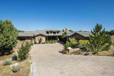 Prescott Single Family Home For Sale: 11940 W Six Shooter Road