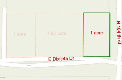 Scottsdale Residential Lots & Land UCB (Under Contract-Backups): 16398 E Dixileta Drive