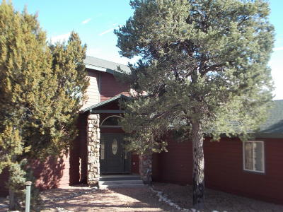 Overgaard Single Family Home For Sale: 2255 Bogey Place