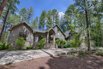 Pinetop Single Family Home For Sale: 3142 Lake View Drive
