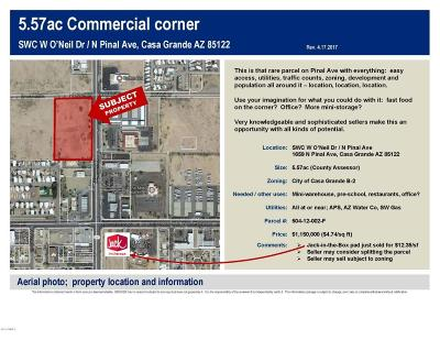 Casa Grande Residential Lots & Land For Sale: 1659 N Pinal Avenue