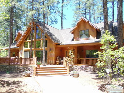 Pinetop Single Family Home For Sale: 3136 Antelope Trail