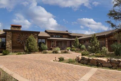 Prescott Single Family Home For Sale: 5185 W Three Forks Road