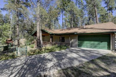 Prescott Single Family Home For Sale: 1505 E Friendly Pines Road
