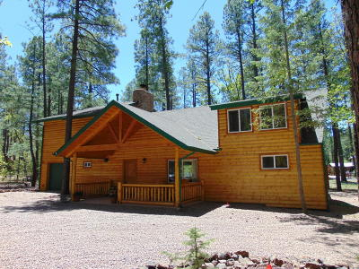 Pinetop Single Family Home For Sale: 3151 Bobcat Gulch