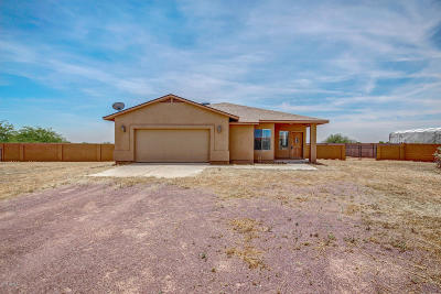 Wittmann Single Family Home For Sale: 23027 W Montgomery Road