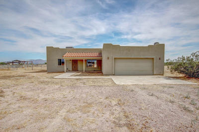 Wittmann Single Family Home For Sale: 25325 W Peak View Road