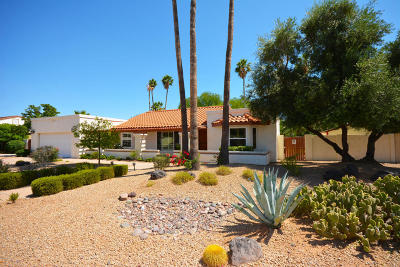 Scottsdale Single Family Home For Sale: 6141 E Hearn Road