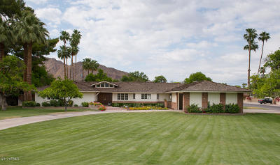 Scottsdale Single Family Home For Sale: 6040 E Lafayette Boulevard