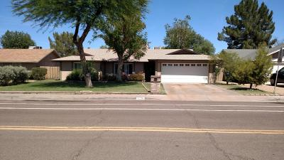 Tempe Single Family Home For Sale: 6835 S Lakeshore Drive