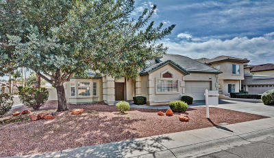 Glendale Single Family Home For Sale: 5867 W Del Lago Circle