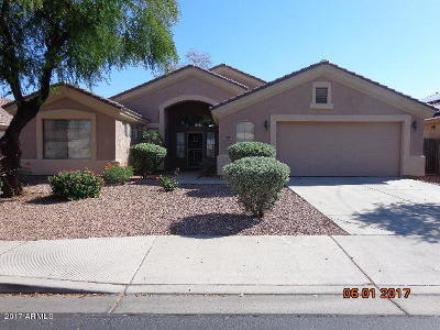 El Mirage Single Family Home For Sale: 12825 W Aster Drive