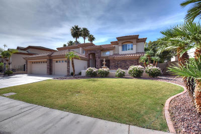 Glendale Single Family Home For Sale: 5878 W Del Lago Circle