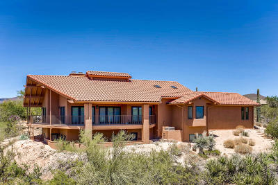 Carefree AZ Single Family Home For Sale: $749,000