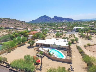 Paradise Valley Single Family Home For Sale: 4820 E Hummingbird Lane
