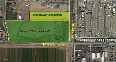 El Mirage Residential Lots & Land For Sale: 10600 N El Mirage Road