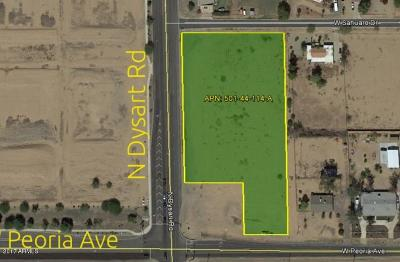 El Mirage Residential Lots & Land For Sale: N Dysart Rd & W. Peoria Ave
