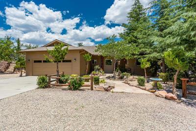 Prescott Single Family Home For Sale: 5250 N Williamson Valley Road