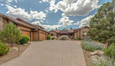Prescott Single Family Home For Sale: 9940 N Clear Fork Road