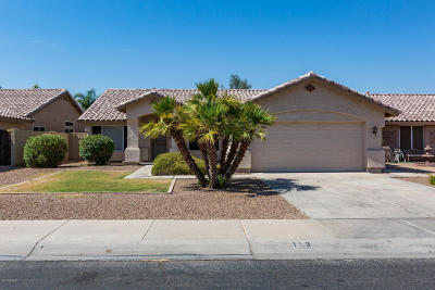 Gilbert Single Family Home For Sale: 113 W Patrick Street