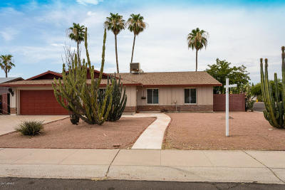 Tempe Single Family Home For Sale: 1722 E Broadmor Drive